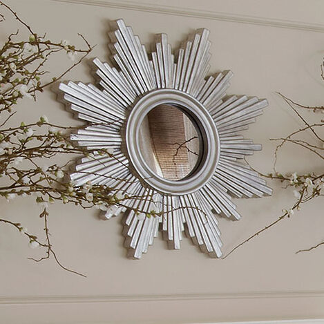 "26"" Silver Sunburst Mirror Product Tile Hover Image 074079B"