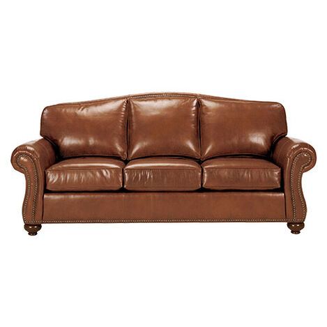 Whitney Leather Sofa, Maxwell Parquet ,  , large