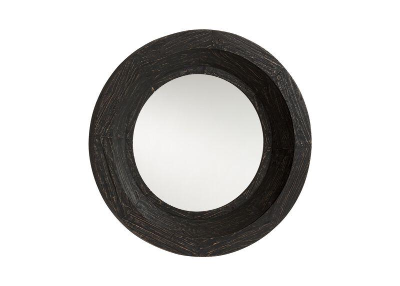 Antique Black Reclaimed Mirror