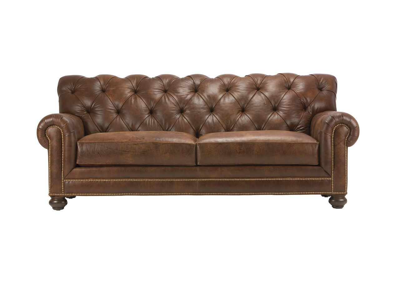 Chadwick Leather Sofa Selected 1