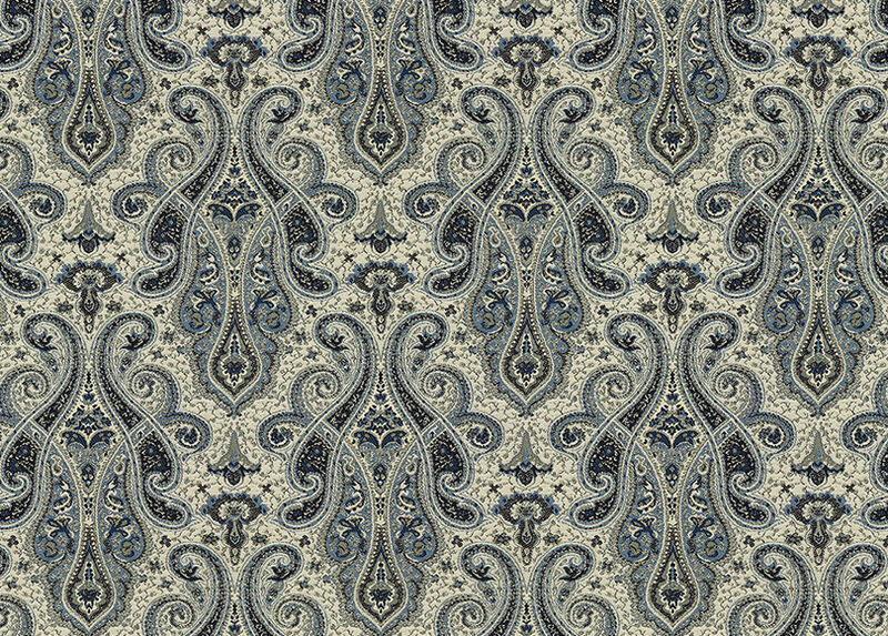 Shayna Indigo Fabric by the Yard ,  , large_gray