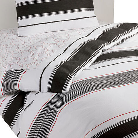 Mixed Stripe Duvet Cover, Mickey's Ears ,  , large