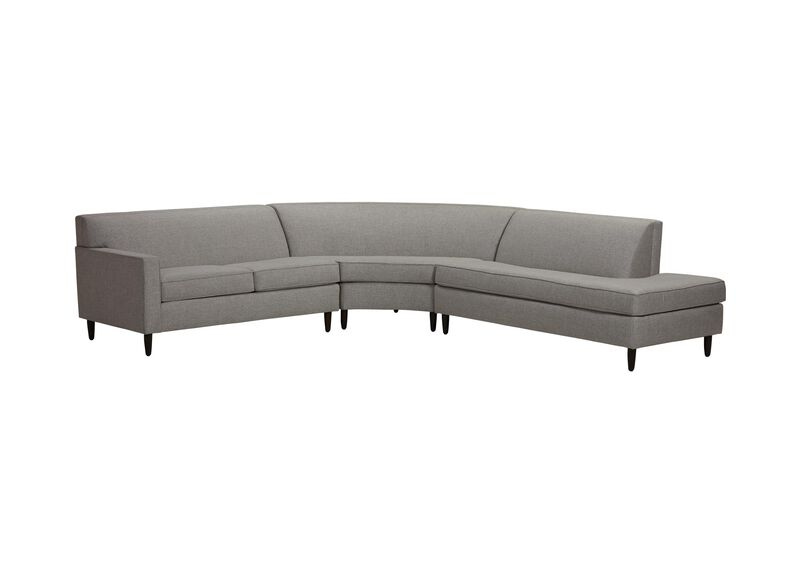 Marcus Three-Piece Sectional, Quick Ship