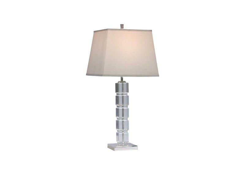 Crystal Blocks Table Lamp ,  , large_gray