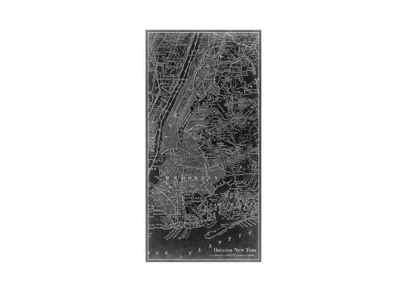 NYC Map I Black