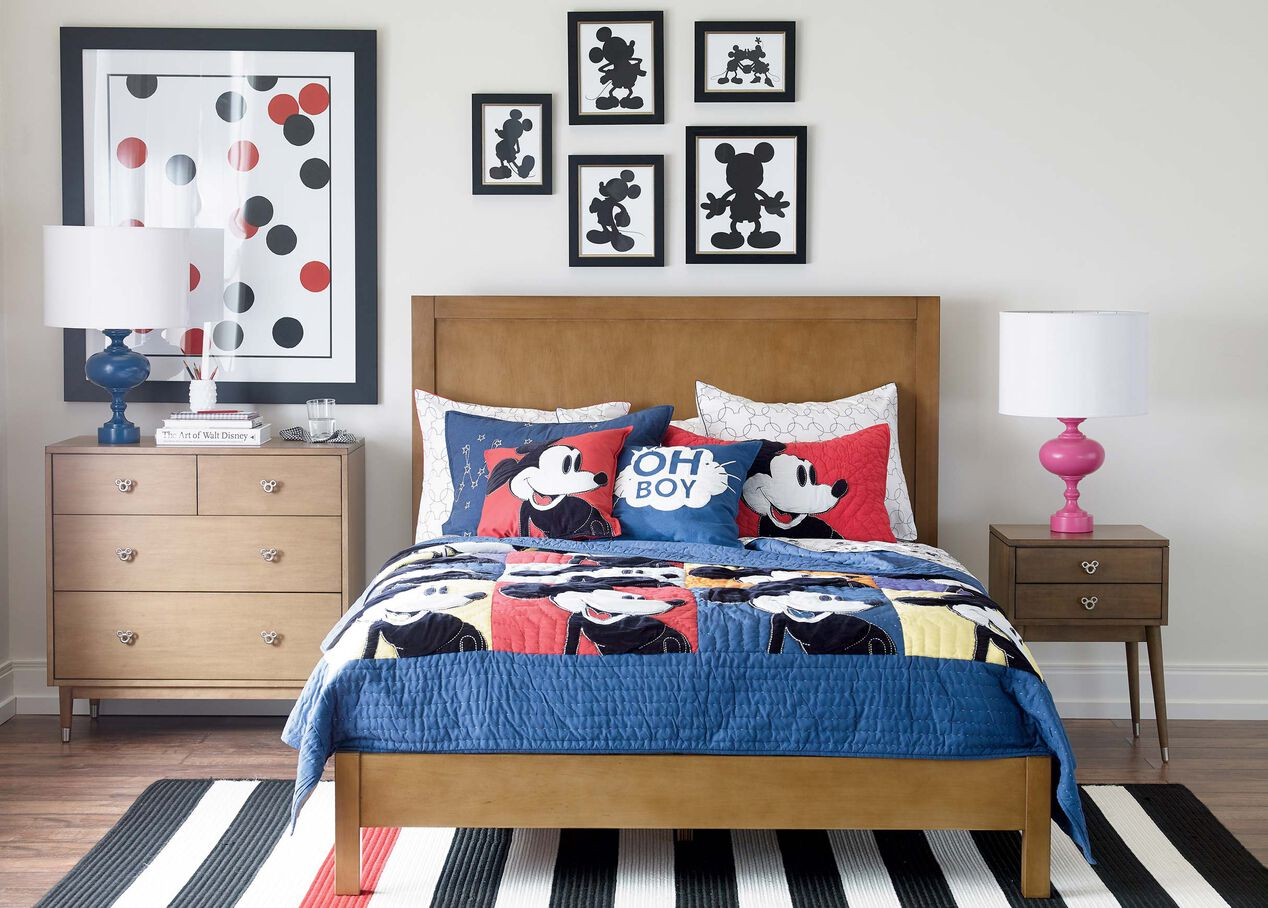 mickey mouse bedroom set mickey silhouette iv ethan allen 16186