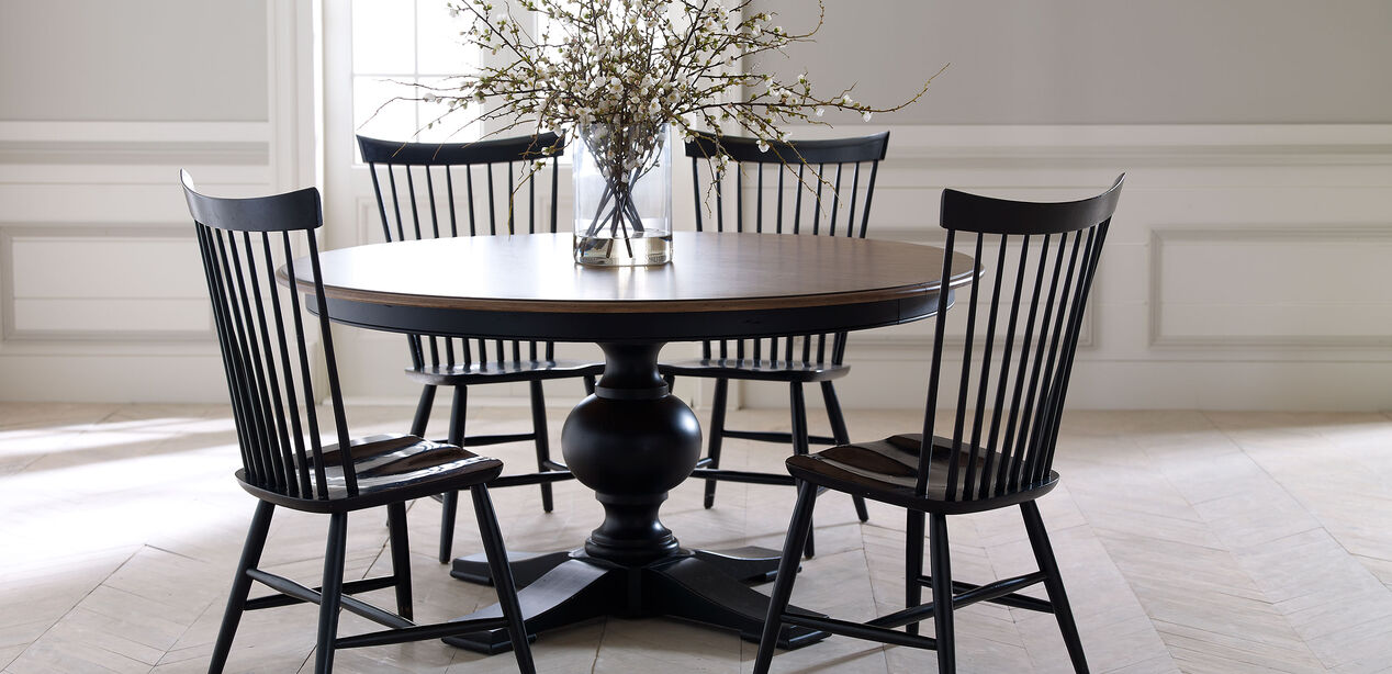 Cooper Round Dining Table Dining Tables Ethan Allen