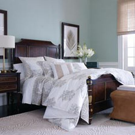 Georgetown Bed  BEDROOM Beds Shop King Queen Size Frames Ethan Allen