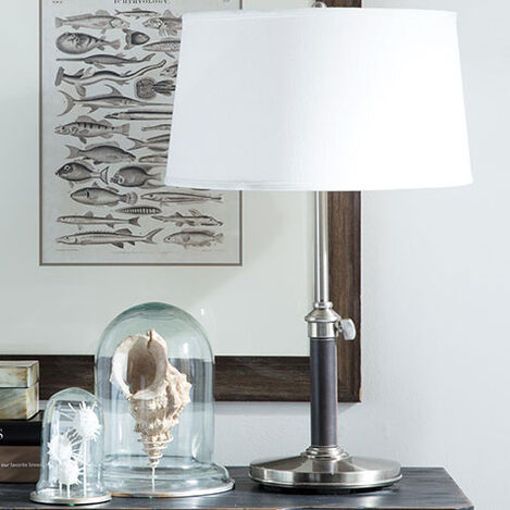 Ridgefield Nickel Buffet Lamp Product Tile Hover Image 096505