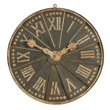 European Clock Dial Fragment ,  , large