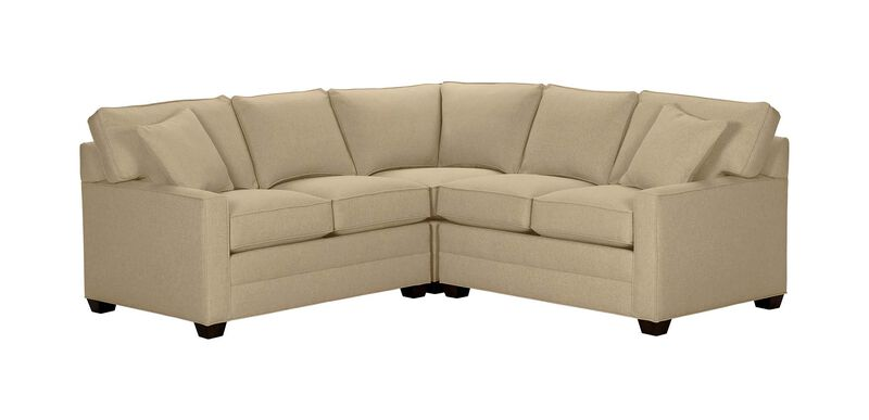 Bennett Track-Arm Three Piece Sectional, Quick Ship , Palmer Oyster (Q3033), chenille , large_gray
