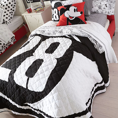 Mickey Mouse 28 Varsity Quilt and Sham Product Tile Hover Image 28Varsity