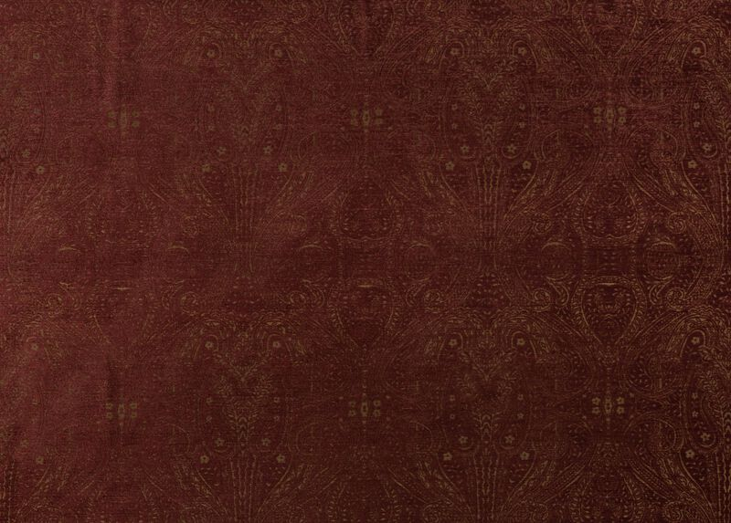 Regan Claret Fabric