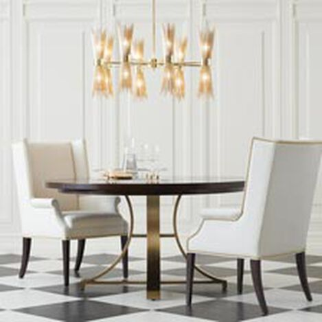 Large Evansview Round Dining Table Hover Image
