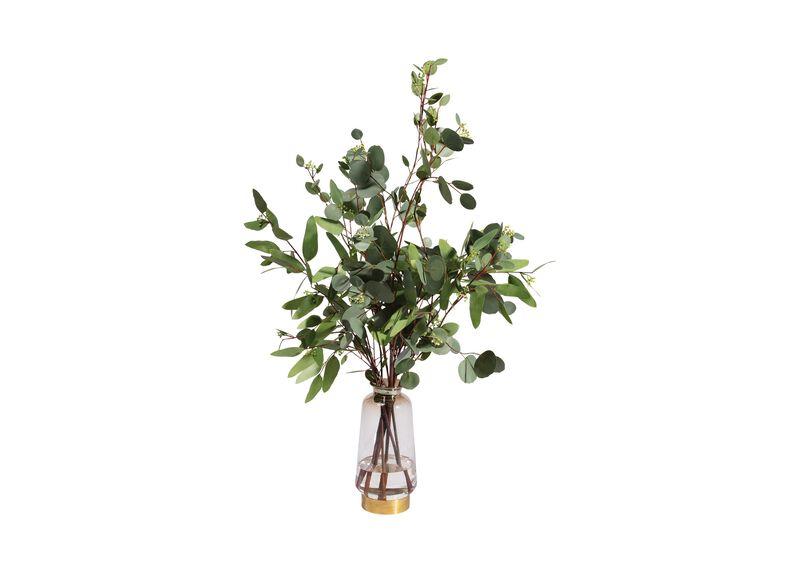 Eucalyptus in Lantern Vase