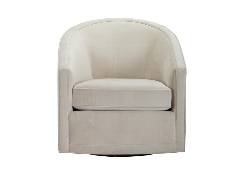 Baylee Barrel-Back Swivel Chair