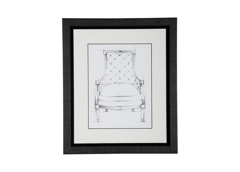 Historic Chair Sketch V ,  , large_gray