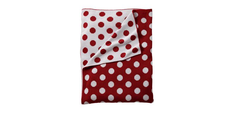 Dotty Stroller Blanket