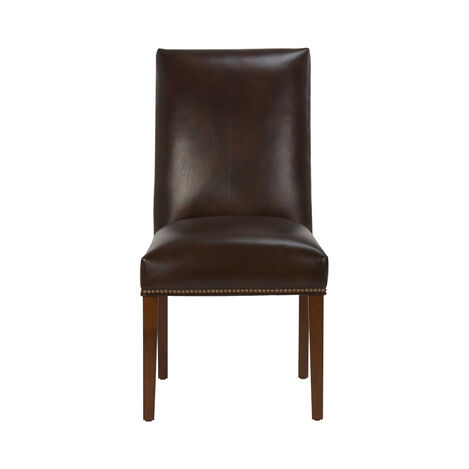Thomas Leather Side Chair ,  , large