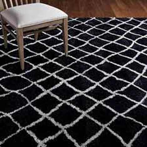 Coaxial Rug, Black/Ivory ,  , hover_image