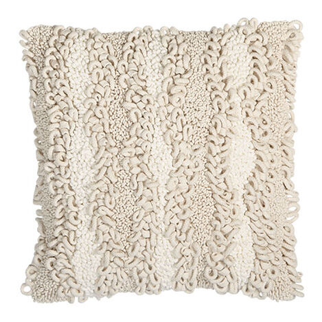 Looped Pillow, Natural Product Tile Image 065754