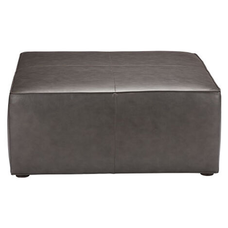 Bryne Leather Square Ottoman Product Tile Image 721010