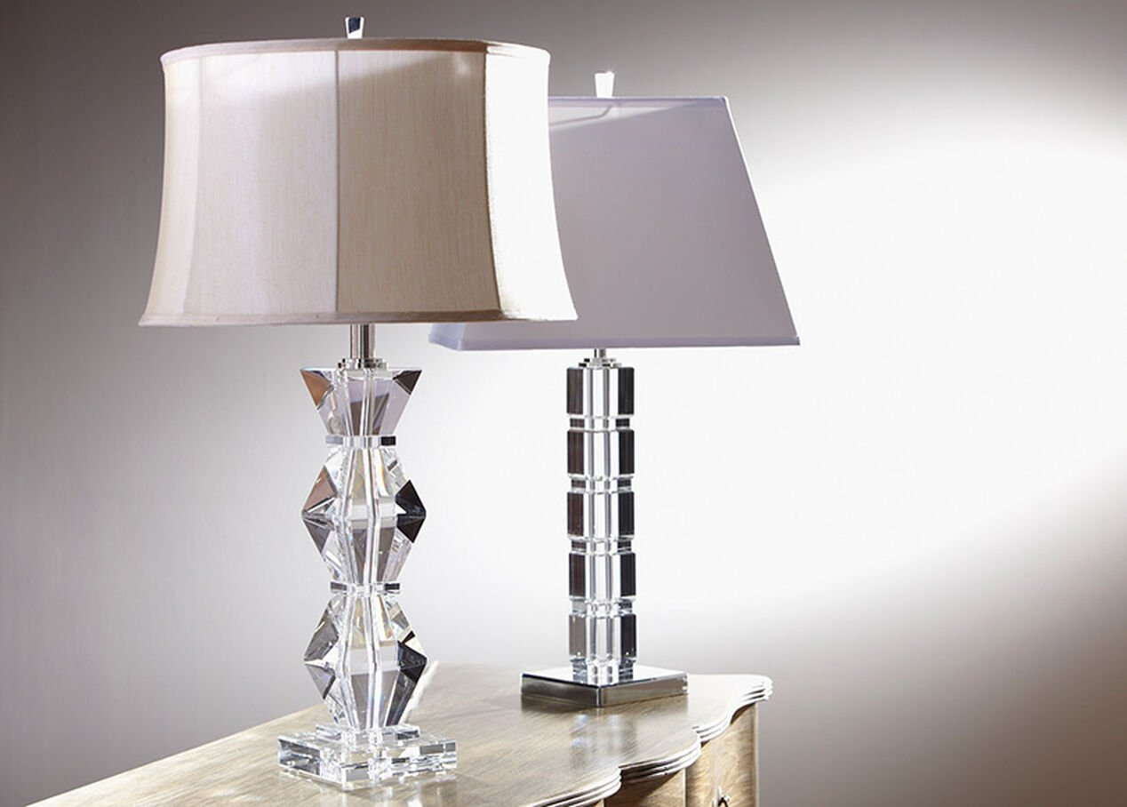 Tremendous Crystal Blocks Table Lamp Table Lamps Ethan Allen Interior Design Ideas Inesswwsoteloinfo