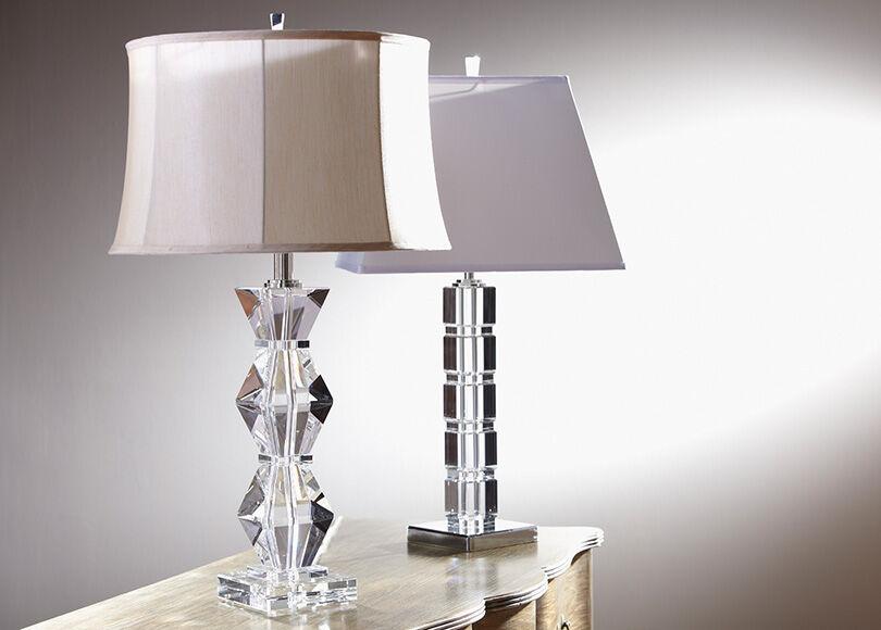 Crystal Blocks Table Lamp , , Alt