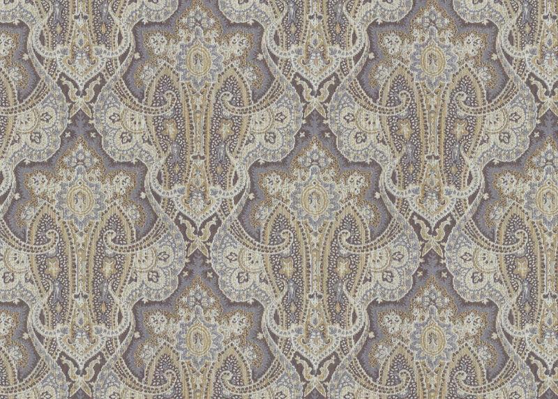 Karnak Wisteria Fabric by the Yard