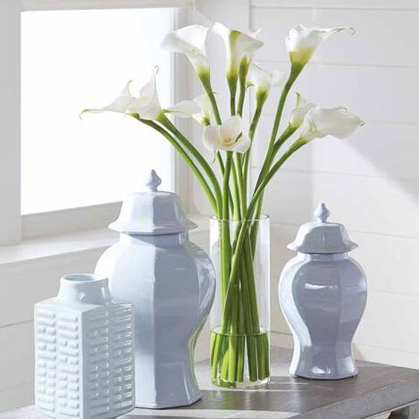 Calla Lily Tall Arrangement Product Tile Hover Image 446624