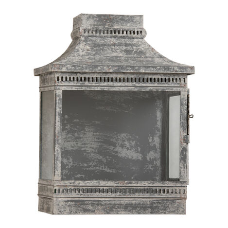 Galvanized Wash Wall Lantern ,  , large