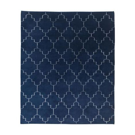 Tulu Tracery Rug, Blue/Natural Product Tile Image 041551