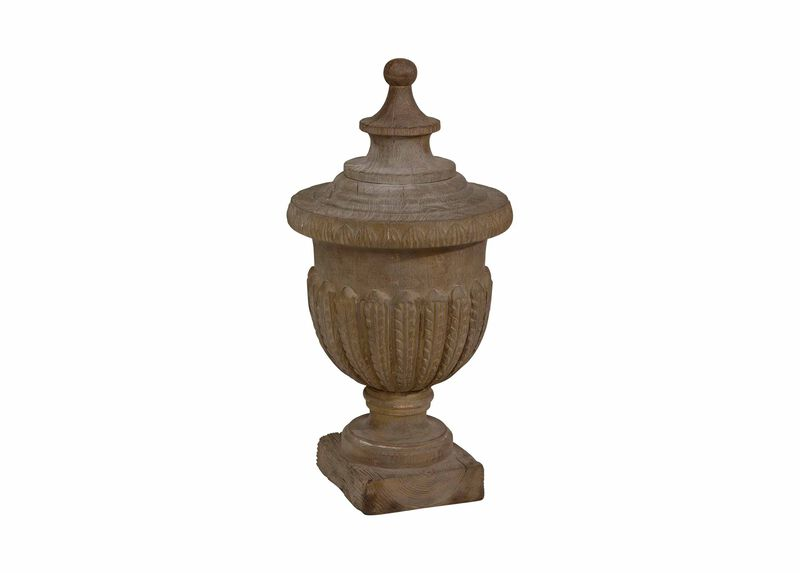 Neo-Classical Wood Finial