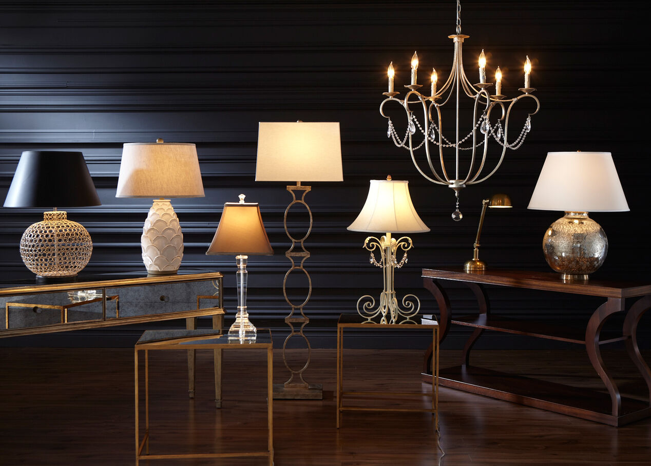 Chelsea Crystal Table Lamp Table Lamps Ethan Allen