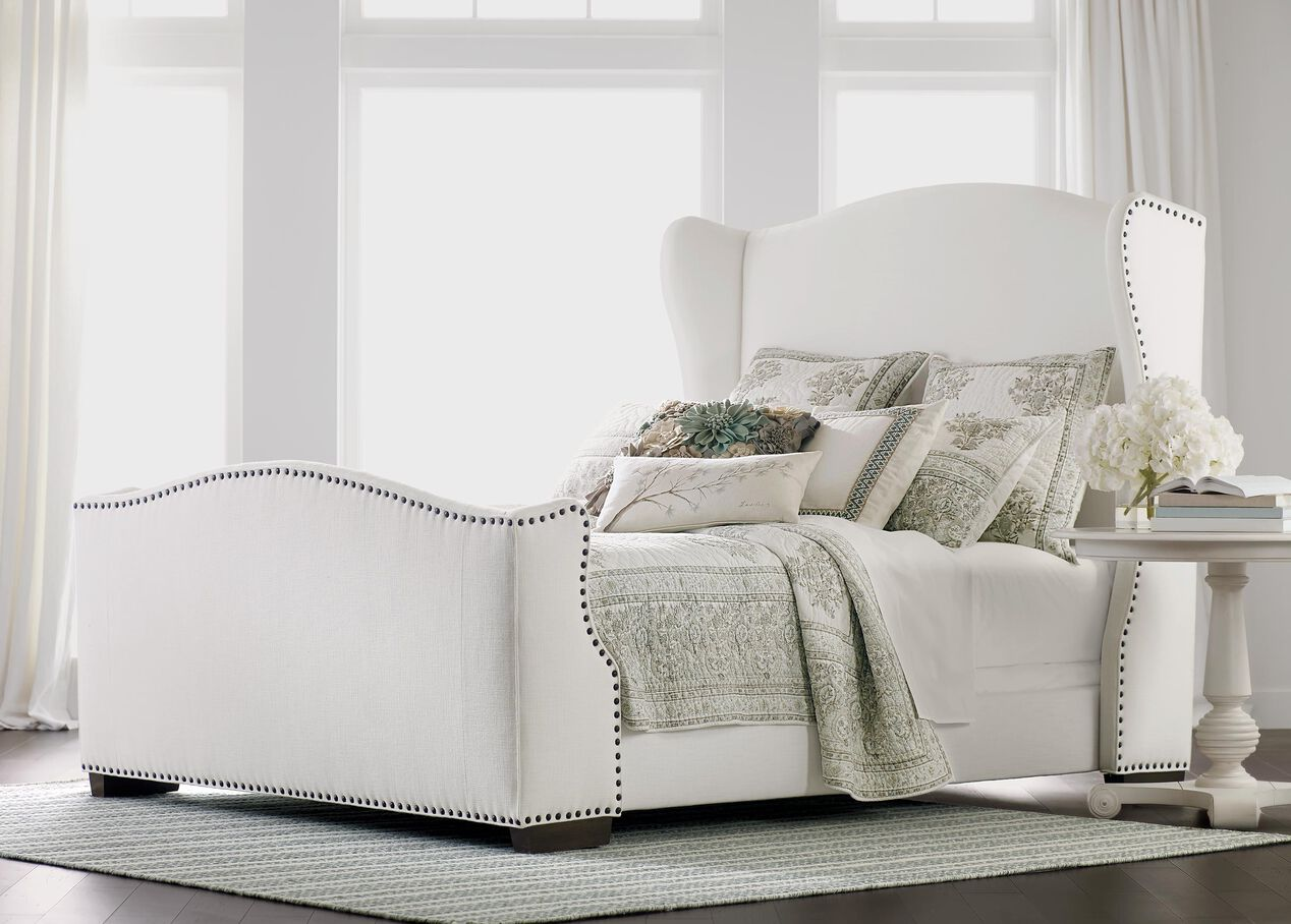 Kayla Bed with Tall Footboard | Beds | Ethan Allen