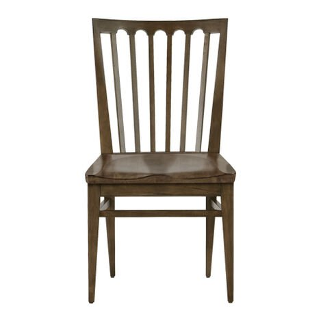 Benham Wood-Seat Side Chair ,  , large