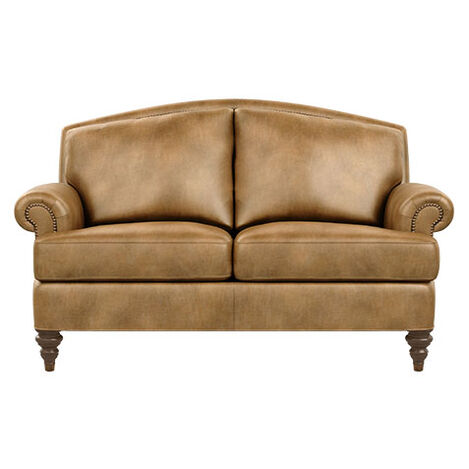 Hyde Leather Loveseat Product Tile Image 727072