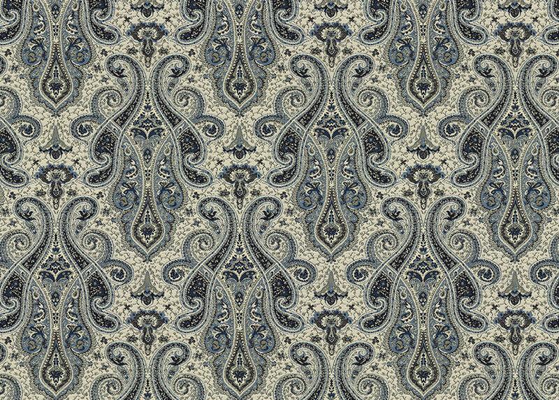 Shayna Indigo Fabric by the Yard