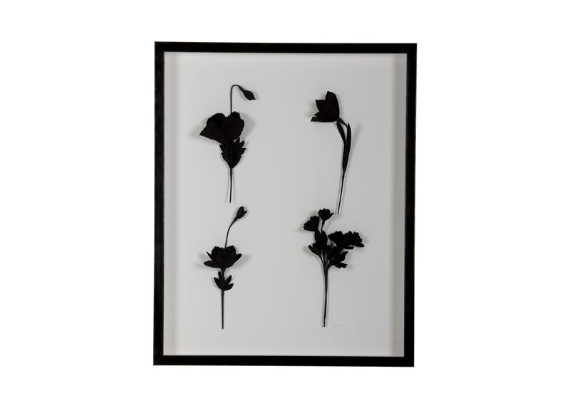 Ebony Flowers II