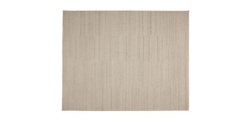 Wool Soumak Rug, Ivory