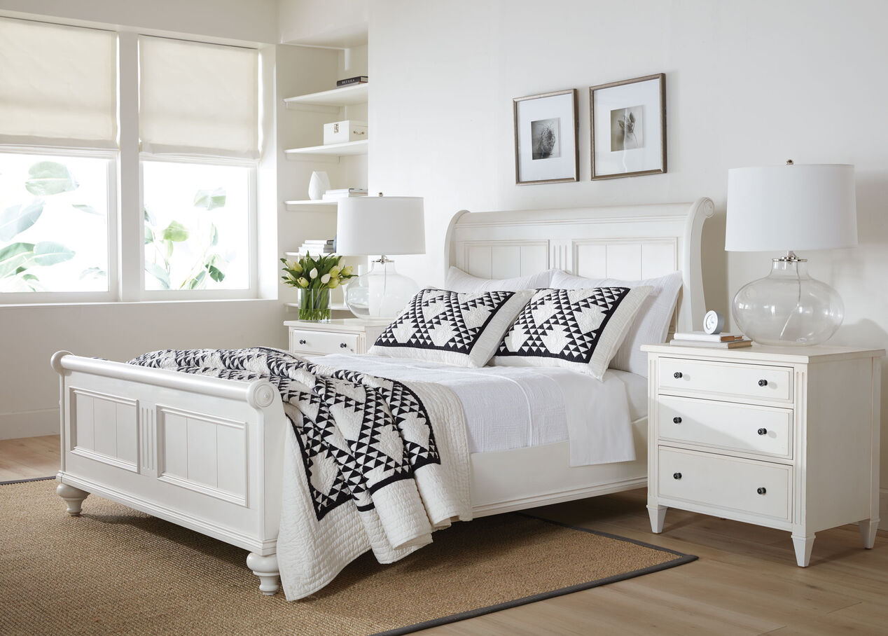 robyn bed  beds  ethan allen