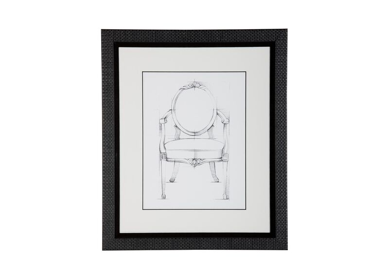 Historic Chair Sketch IV ,  , large_gray