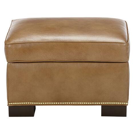 Astor Leather Ottoman Product Tile Image 722450