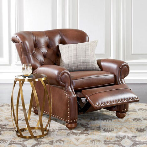 Cromwell Leather Recliner Product Tile Hover Image 737949