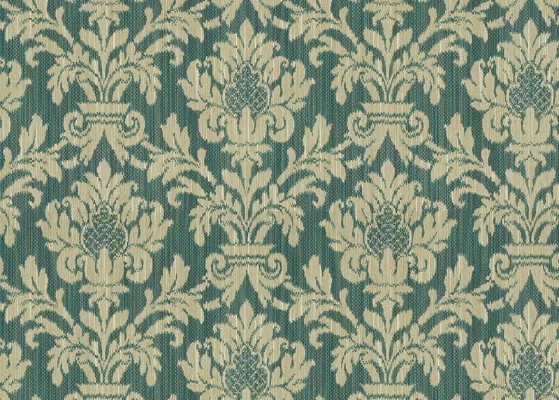 Maya Teal Fabric by the Yard
