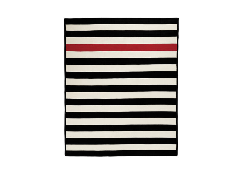 Mickey Mouse Stripe Rug