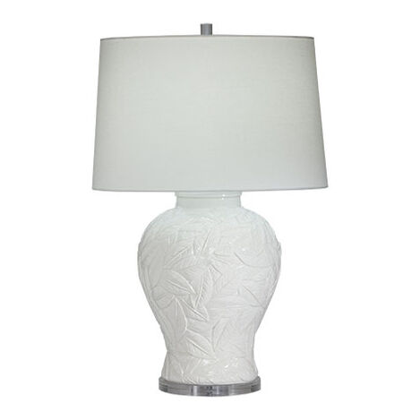 Flora White Table Lamp Product Tile Image 096113