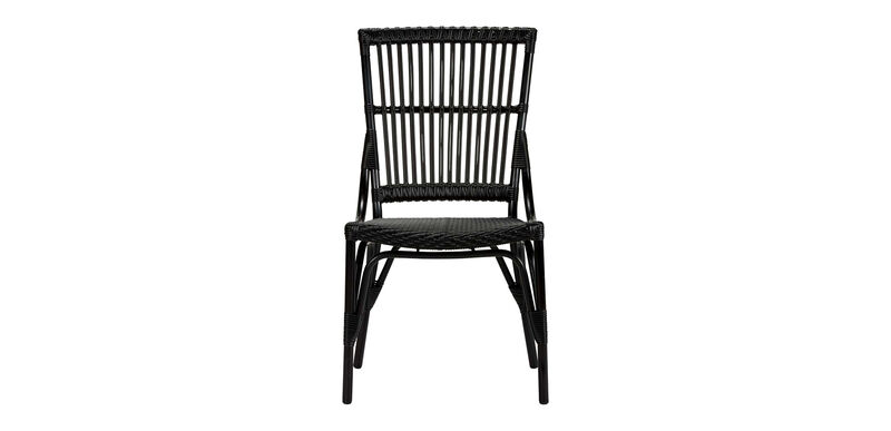 Vero Dunes Woven Dining Side Chair