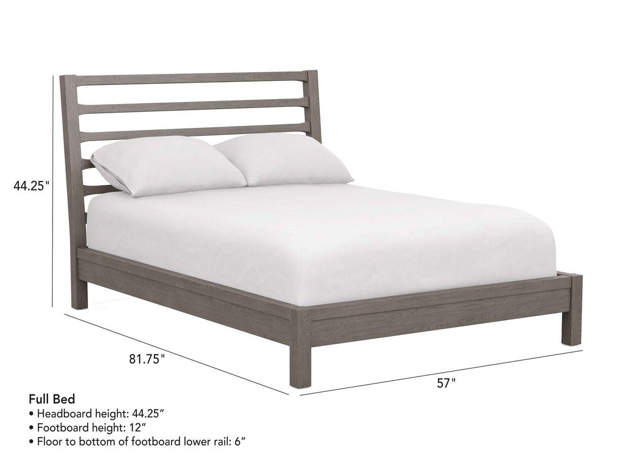 Huntsville Indonesian Mahogany Platform Bed