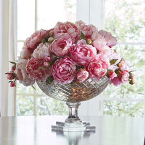Peonies in Cut Glass Bowl Product Tile Hover Image 442221